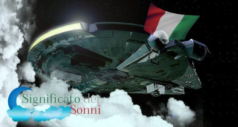 """Simbolo del sogno """"astronave"""" - l'interpretazione generale"""