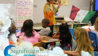Il'insegnante / Significato del sogno