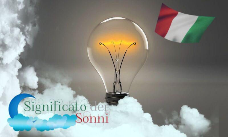 Significato dei sogni della lampadina