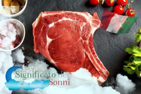 Significato di sognare con la carne