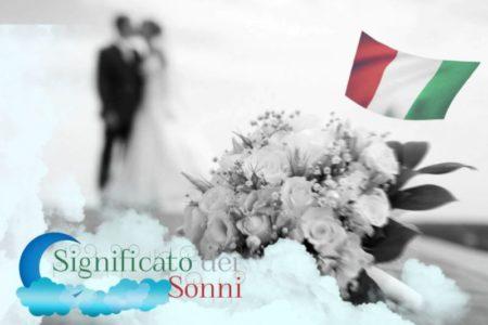 Significato di sognare i matrimoni (nuziale)