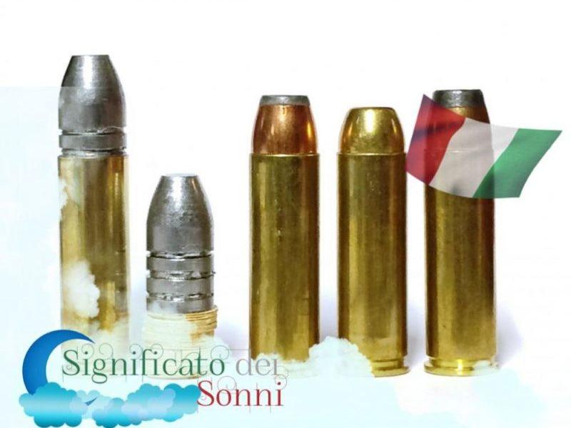 Significato di sognare le munizioni