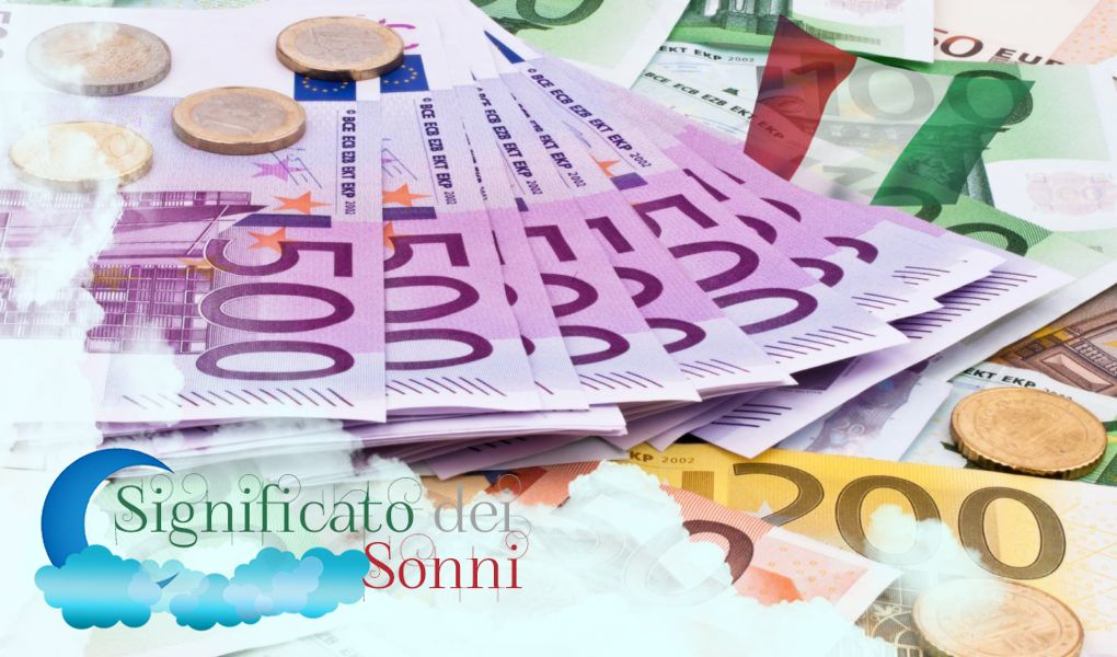 Sognando denaro, monete e banconote