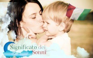 Sognando di avere un figlio, un sogno per donne e uomini