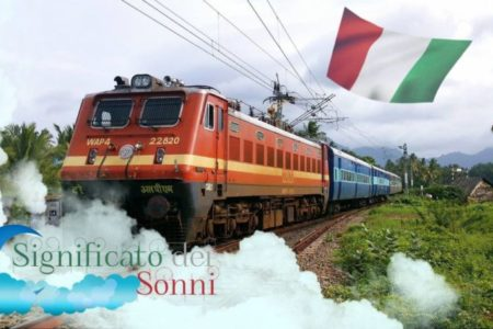 Sognando un treno o locomotiva