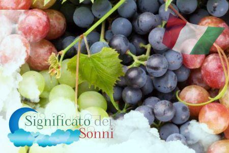 Sognare l'uva