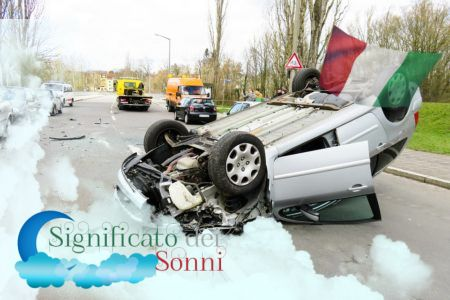 Sogni di incidenti d'auto e incidenti d'auto - Significato e interpretazione