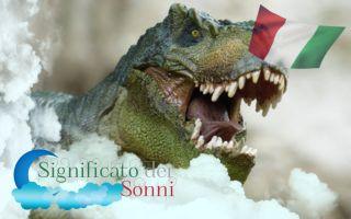 Sogni sui dinosauri - Interpretazione e significato